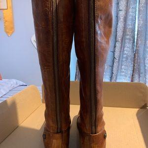 Frye Shoes - Melissa buttonback zip frye boots